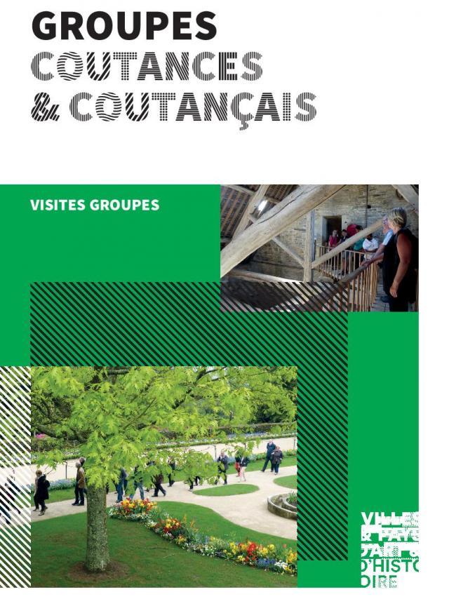 Couverture Brochure groupes coutançais par le pays d'art et d'histoire du Coutançais