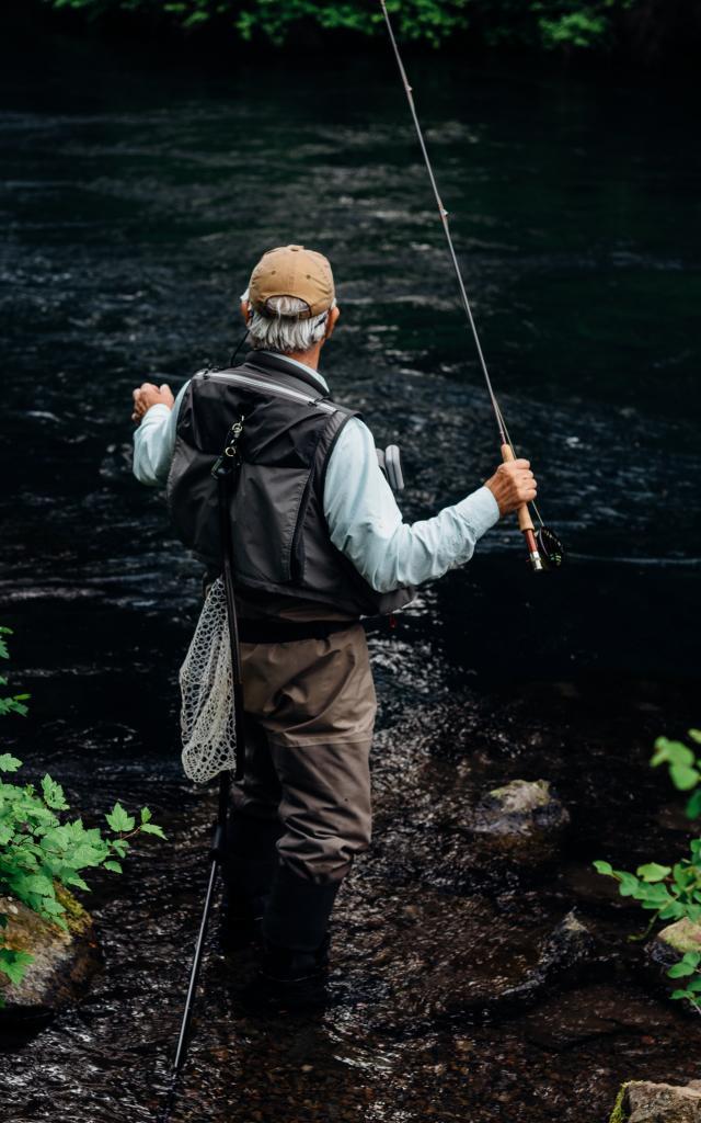 Pêche en rivière dans les ruisseaux à Coutances mer et bocage