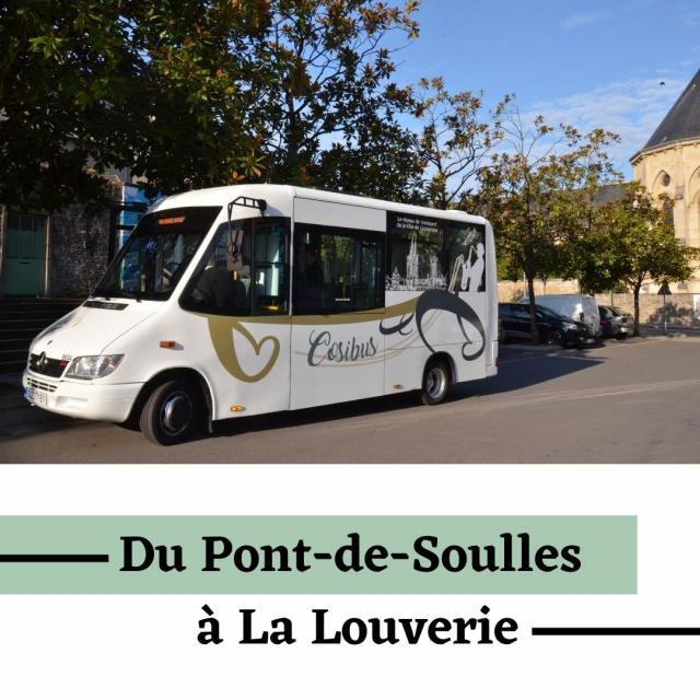 Horaires du Pont de Soulles à La Louverie Cosibus de COutances
