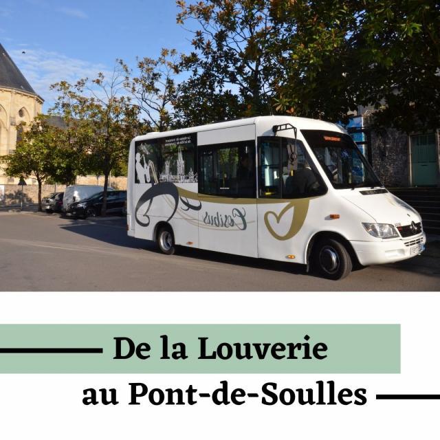 De la louverie au pont de Soulles horaires du cosibus Coutances