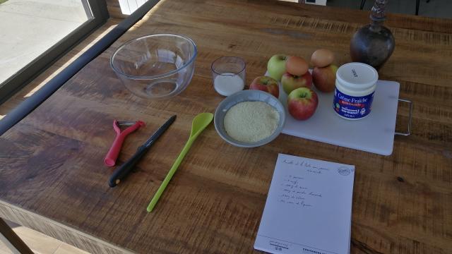 Recette Maison Enfants Tarte Aux Pommes Gastronomie Terroir (1)