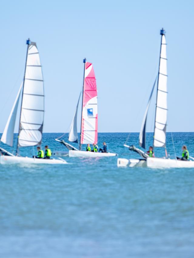 Sports nautique Catamaran à Agon-Coutainville