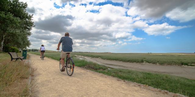 Balade à vélo à Regnéville-sur-Mer