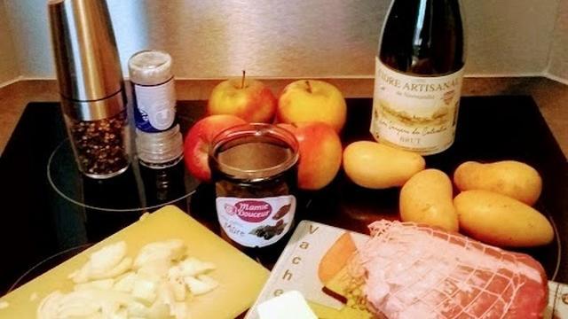 Roti Porc Normande Gastronomie Cidre Pommes Cuisine (2)