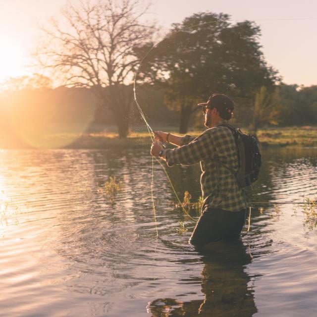 Pêche en rivière à Coutances mer et bocage