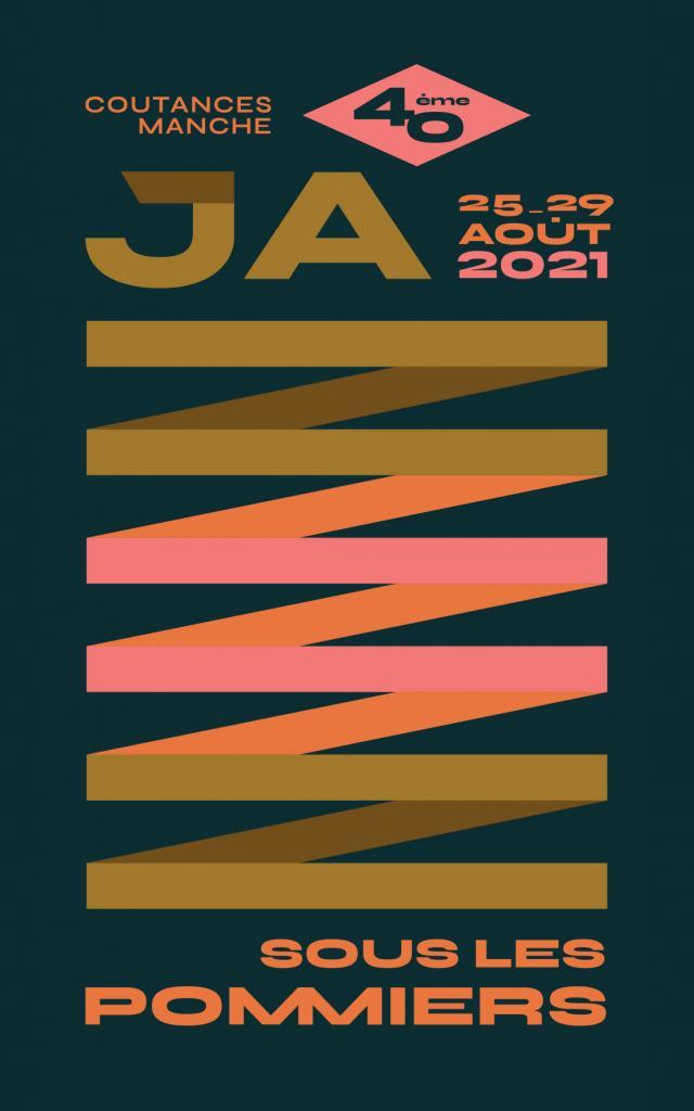 Affiche de jazz sous les pommiers 2021