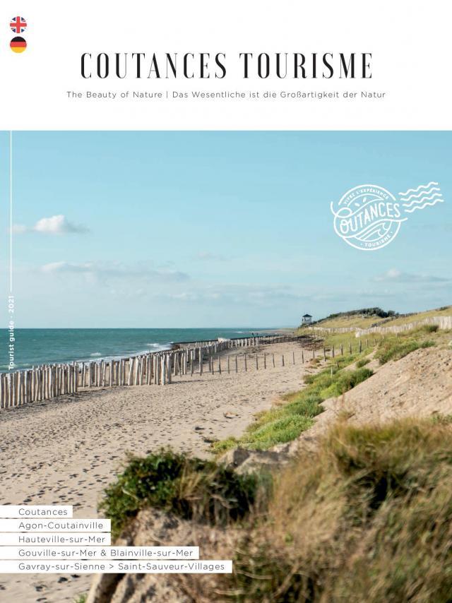 Couverture du magazine en version étrangère de Coutances Tourisme