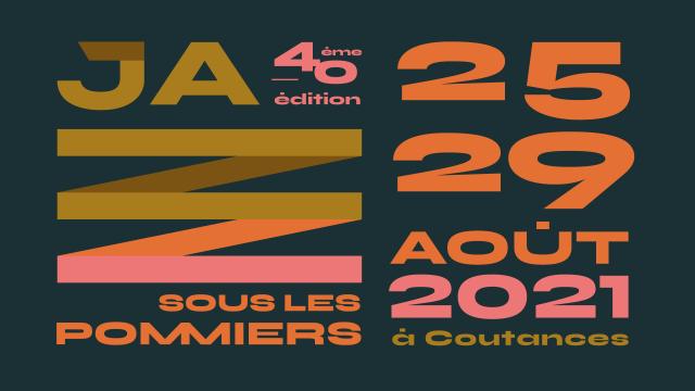Visuel 2021 de Jazz sous les Pommiers