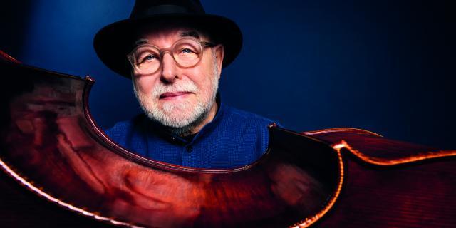 Henri Texier au festival jazz sous les pommiers