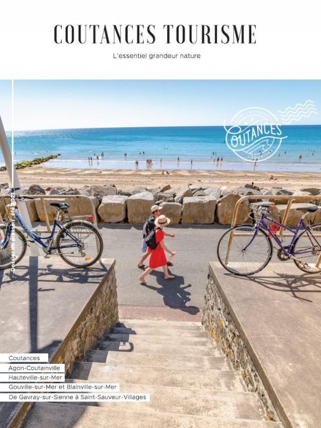 Couverture Dossier De Presse été 2021 Coutances Tourisme