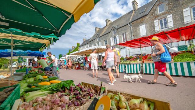 Marché Montmartin Sur Mer
