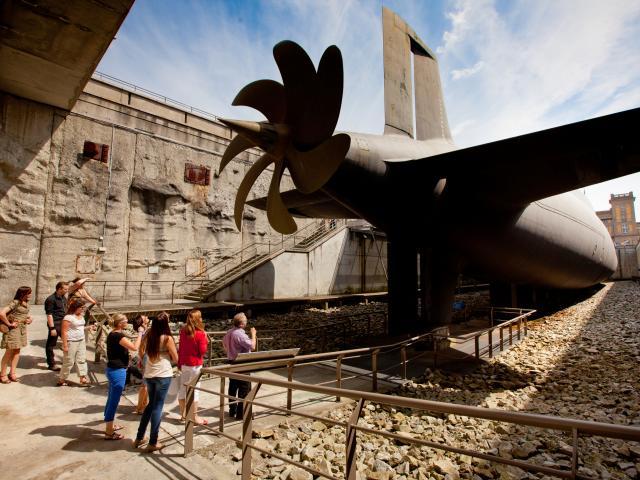 Le sous-marin redoutable à la Cité de la mer de Cherbourg
