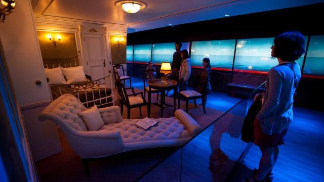 Exposition Titanic à la Cité de la mer à Cherbourg