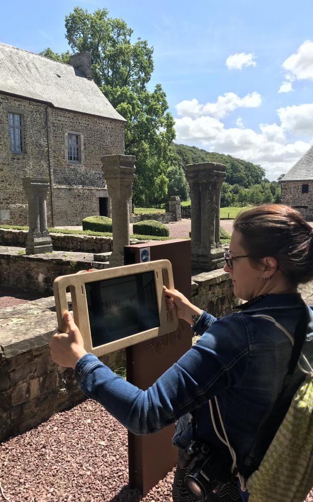 Abbaye de Hambye tablettes 3d