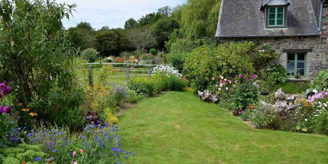 Jardin casrouge courcy cotentin côté jardin