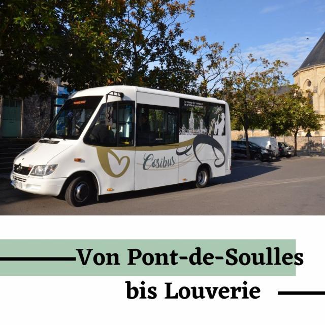 Cosibus von pont de soulles Bis Louverie im Coutances