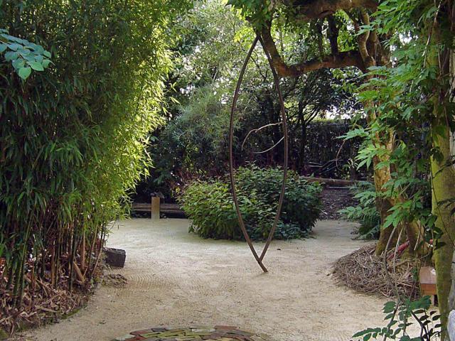 Jardin du revers notre dame de cenilly