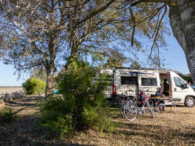 En camping car à Coutances mer et bocage