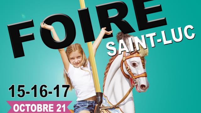 Affiche foire Saint Luc 2021