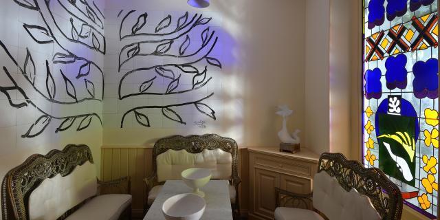 Le Cateau-Cambrésis_ Musée Matisse_ La salle à manger Tériade © Dominique Silberstein