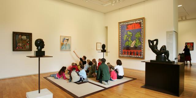 Le Cateau-Cambrésis_ Musée Matisse _ Accueil d'enfants © Département du Nord - Philippe Houzé