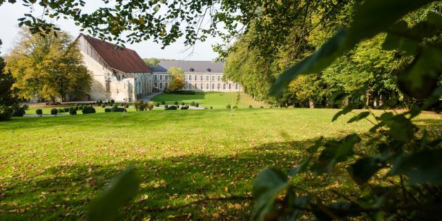 Vaucelles, Abbaye de Vaucelles ©F. Moreau - OT Cambrésis