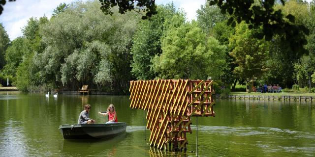 Amiens _ Les Hortillonnages _ Festival Art Ville et Paysage © CRTC Hauts-de-France - Teddy Henin