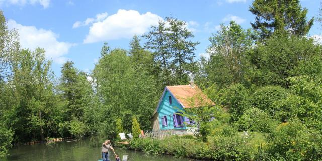Amiens _ Hébergement Insolite d'une Ile à l'Autre © CRTC Hauts-de-France - Guillaume Fatras
