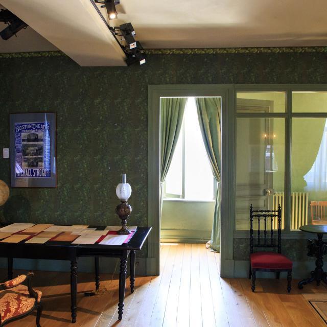 Amiens _ Maison Jules Verne © CRTC Hauts-de-France - AS Flament