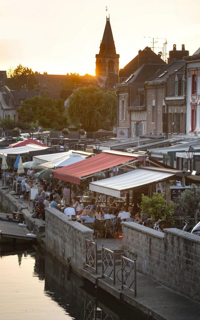 Amiens _ Le Quai Bélu © CRTC Hauts-de-France- Nicolas Bryant