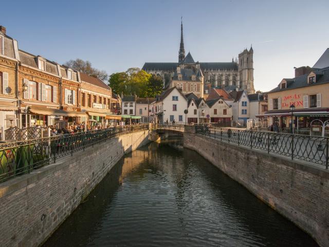 Amiens _ Place du Don dans le quartier Saint-Leu © CRTC Hauts-de-France - Stéphane Bouilland