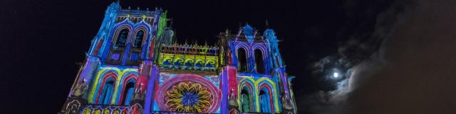 Amiens Cathédrale d'Amiens spectacle Chroma © CRTC Hauts-de-France - Stéphane Bouilland