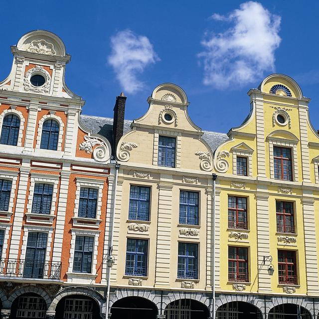 Arras, Façades flamandes © OT Arras Pays d'Artois Cituation et Ensemble