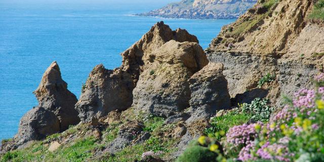 Audresselles Le Cran Aux Oeufs vue falaise © C.Cholez - Terre Des 2 Caps Tourisme