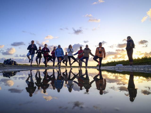 Baie de Somme _ Sortie Nature Yoga et Sophrologie © CRTC Hauts-de-France - Nicolas Bryant