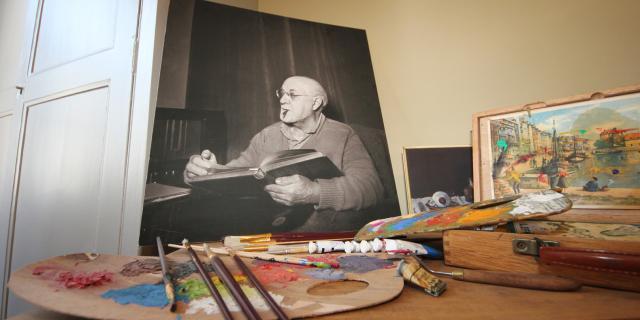 Bohain-en-Vermandois_ Maison Familiale Henri Matisse _ Chambre Atelier © La Maison Familiale d'Henri Matisse - Studio Jean Paul Bohain