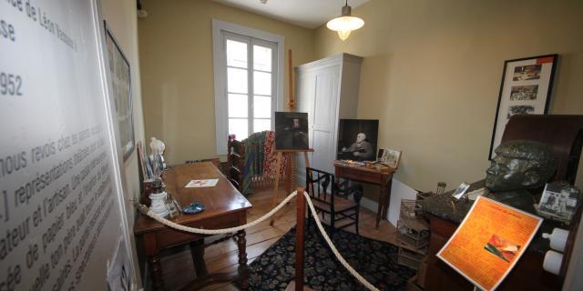Bohain-en-Vermandois_ Maison Familiale Henri Matisse _ Chambre Atelier © La Maison Familiale Henri Matisse - Studio Jean Paul Bohain