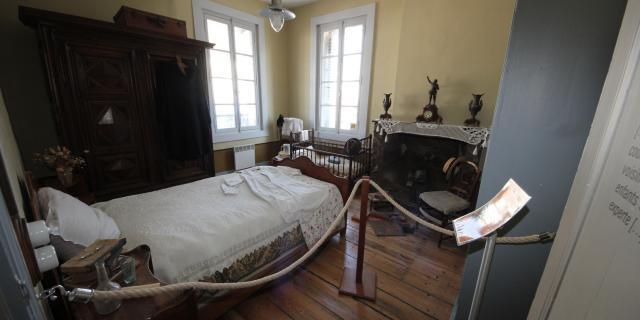 Bohain-en-Vermandois_ Maison Familiale Henri Matisse _ Chambre d'Henri Matisse © La Maison Familiale Henri Matisse - Studio Jean Paul Bohain