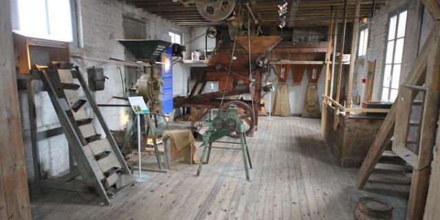 Bohain-en-Vermandois_ Maison Familiale Henri Matisse _ Salle des Machines Graineterie © La Maison Familiale Henri Matisse - Studio Jean Paul Bohain