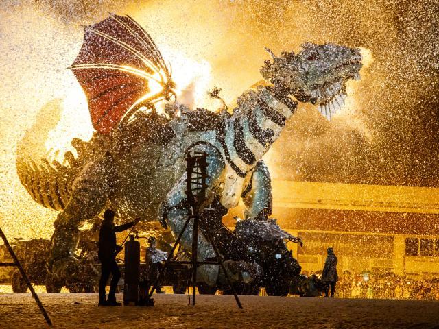 le dragon de Calais, compagnie La Machine, spectacle de François Delarozière