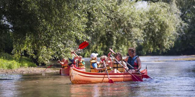 Balade en canoë ©CRTC Hauts-de-France - N. Bryant
