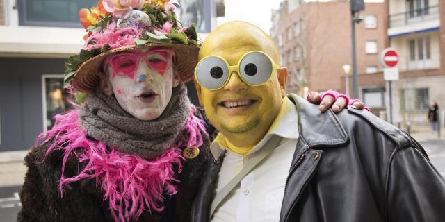 Dunkerque _ Carnaval _ Portrait de festivaliers déguisés © CRTC Hauts-de-France - Benoît Guilleux