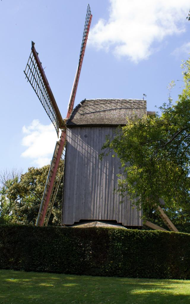 Cassel_Jardin du moulin du Marechal Foch ©Destination Coeur de Flandre