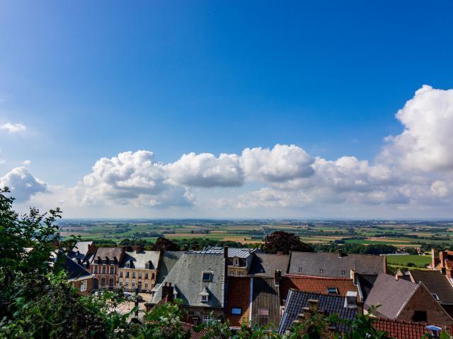Cassel _ Panorama Vue © Destination Cœur de Flandre