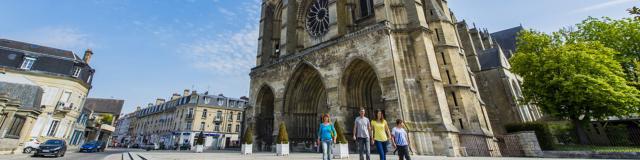 Soissons, Cathedrale de Soissons ©CRTC Hauts-de-France - Sylvain Cambon