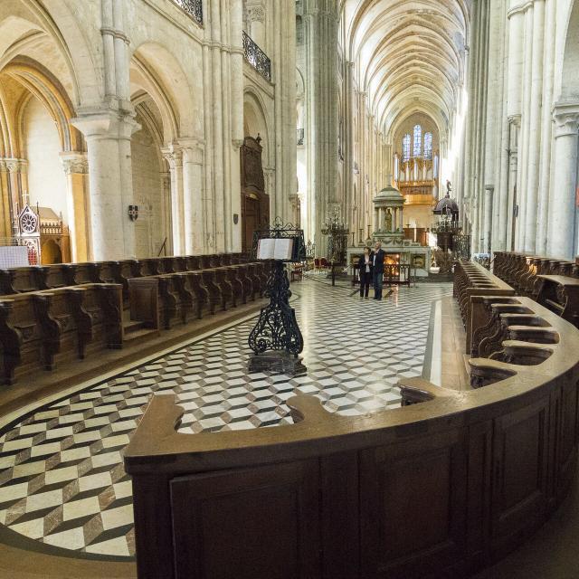 Noyon _ Cathédrale Notre-Dame © CRTC Hauts-de-France - Xavier Renoux