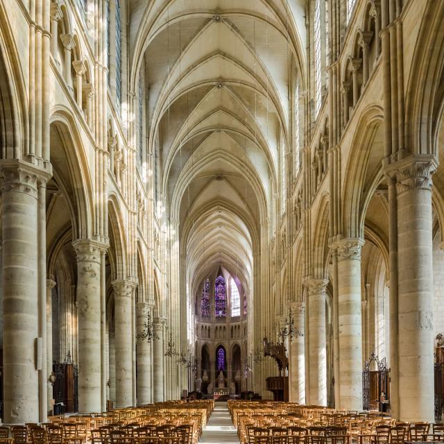Soissons _ Cathédrale Saint-Gervais-et-Saint-Protais © GrandSoissons Agglomération - Sylvain Cambon