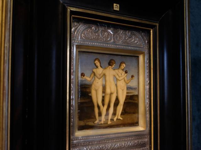 Chantilly _ musée Condé _ Raphaël : les trois Grâces © CRTC Hauts-de-France - Jean-Luc Verbrugghe