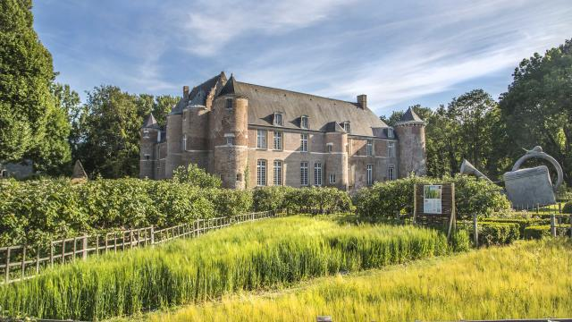 Esquelbecq_le château © Stephane Fedorowsky-Association du Château