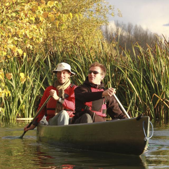 Vallée de l'Oise, Circuit Stevenson en canoe ©CRTC Hauts-de-France - Guillaume Fatras